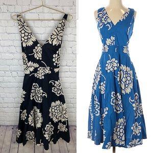 Gerard Darel Floral Midi Dress Size 12-14